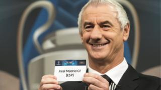 قرعهکشی دیدارهای لیگ قهرمانان اروپا