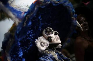Day of the Dead celebrations, in Mexico City