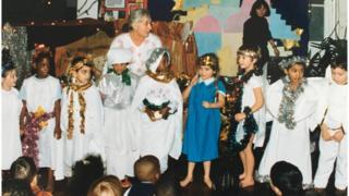 School nativity in 1995