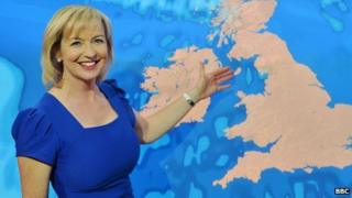 Bbc South East Weather Presenters Female With Glasses