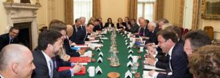 Cabinet meeting, May 2015