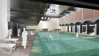 2008 plans to redevelop the St Peter's site as a health spa