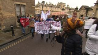 Rhodes Must Fall march