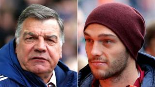 Sam Allardyce and Andy Carroll