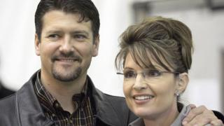 Todd and Sarah Palin, pictured in 2006