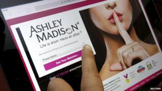 Ashley Madison screenshot