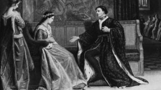 King Henry and Catherine