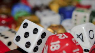 Dice, counters and other generic board game pieces