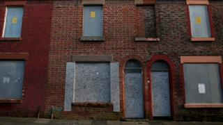 Ringo Starr's former home in Madryn Street, Liverpool
