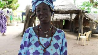 Senegalese woman