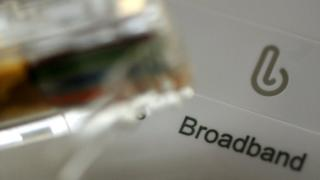 Broadband router and cable