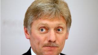 دمیتری پسکوف، سخنگوی ولادیمیر پوتین، رییس جمهوری روسیه
