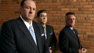 James Gandolfini, Steven Van Zandt y Tony Sirico, miembros de The Sopranos