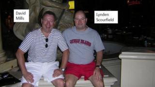 David Mills and Lynden Scourfield
