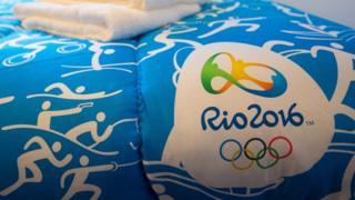 Edredón oficial de Rio 2016