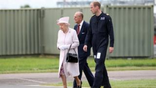 The Queen visits the EAAA