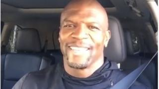 "Screenshot of Terry Crews' ""Dirty Little Secrets"" video"