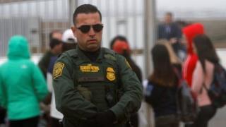 Un agente de la patrulla fronteriza de Estados Unidos.