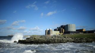 Wylfa nuclear power station