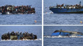 Мигранты покидают тонущее судно