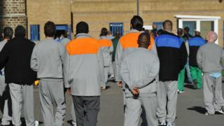 Black and minority ethnic people in prison