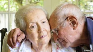 Couple with dementia