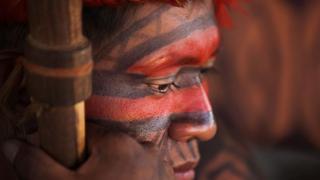 Индеец племени Мундуруку