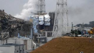 Damaged Tepco Fukushima power plant