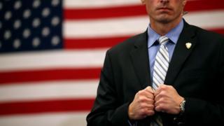 A US Secret Service agent