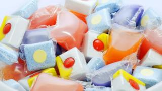 Dishwasher and washing machine detergent capsules