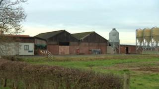 Low Farm in Fulstow