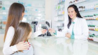 Pharmacy file picture