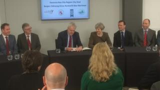 Carwyn Jones and Theresa May