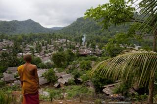Monk at Mae La