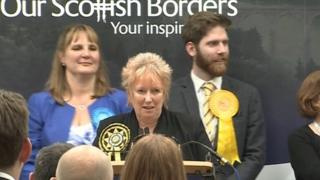 Christine Grahame won the final constituency seat for the SNP
