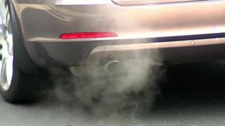 Diesel engine exhaust pipe