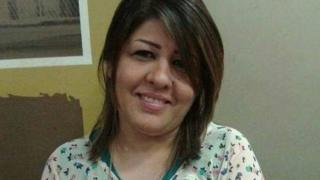 Photo of Afrah Shawqi al-Qaisi published by Baghdad-based Journalistic Freedoms Observatory