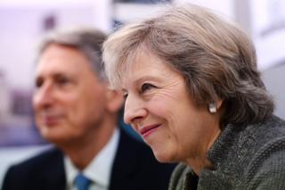 Chancellor Philip Hammond and Prime Minister Theresa May