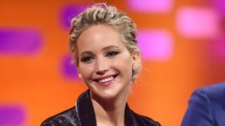 Jennifer Lawrence on Graham Norton