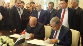 وزرای نفت ایران و عراق