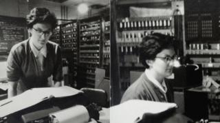 Joyce Blackler using Edsac