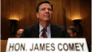 James Comey at a Congressional hearing