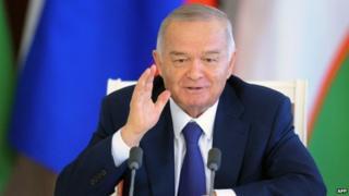 Rais wa Uzbekistan Islam Karomov