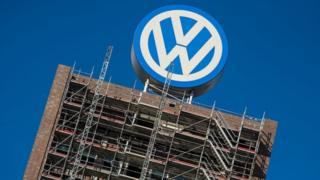 Volkswagen sign