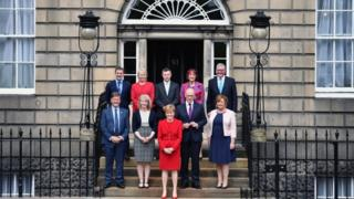 Scottish cabinet at Bute House