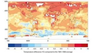 потепління глобальне