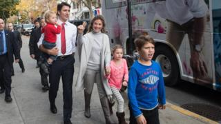 Trudeau has used Canadian taxpayers' money to fund child care for his three children.