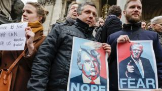 تظاهرات در بروگسل، پایتخت بلژیک