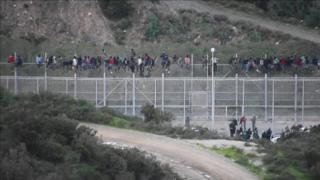 Мигранты из Африки