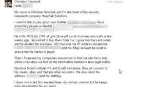 How I caught my online scammer – and Facebooked his mum